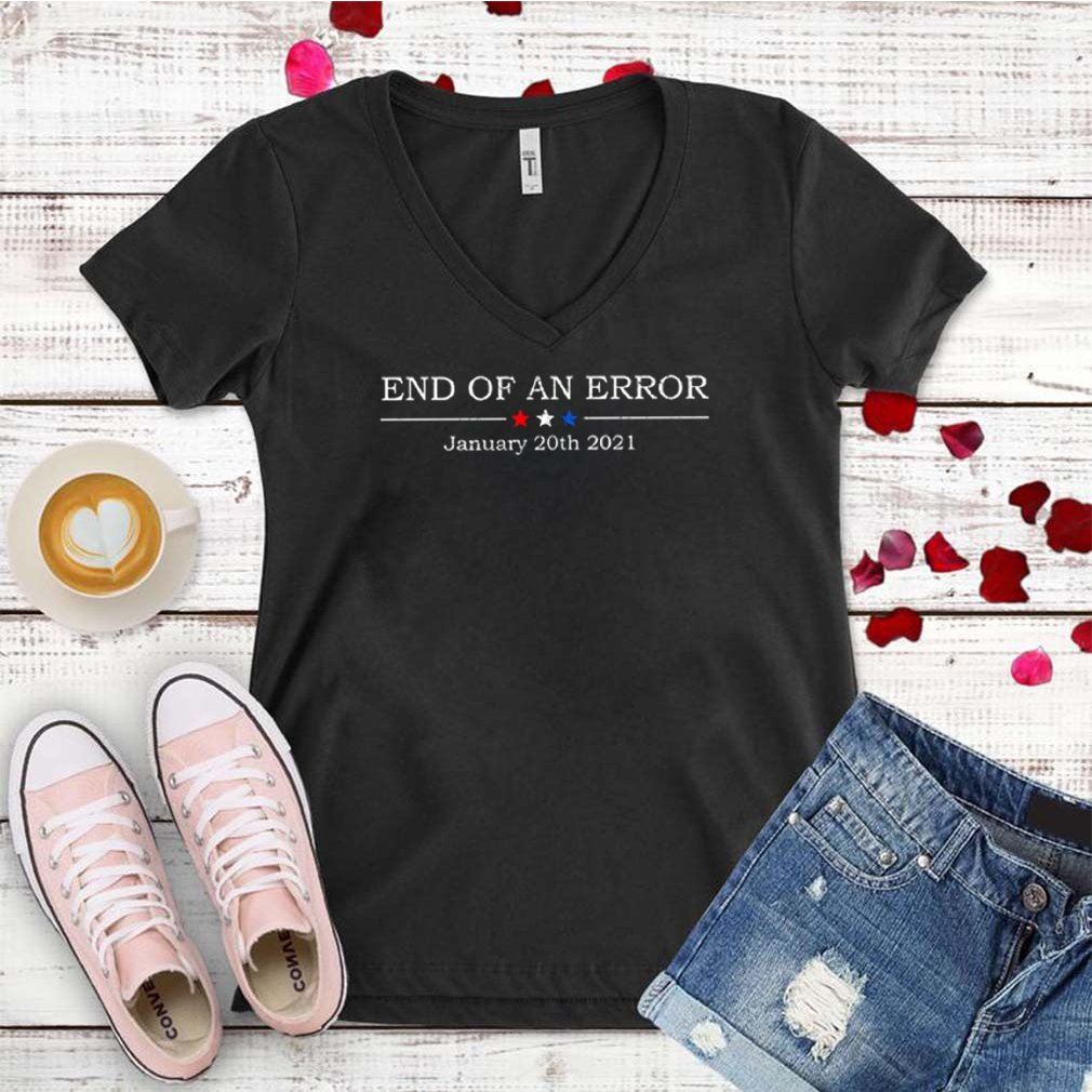 End of an error January 20th 2021