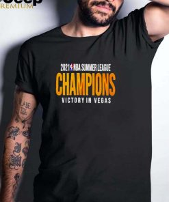 2021 NBA summer league champions victory in Vegas shirt