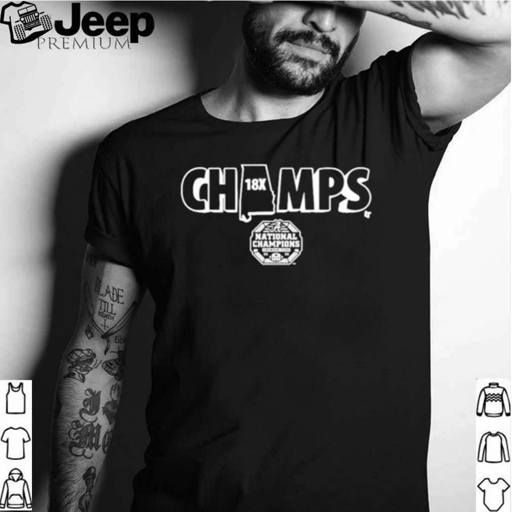 18x champs shirt