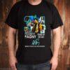 34 Years of 1987 2021 Florent Pagny Merci pour Les Souvenirs signature shirt