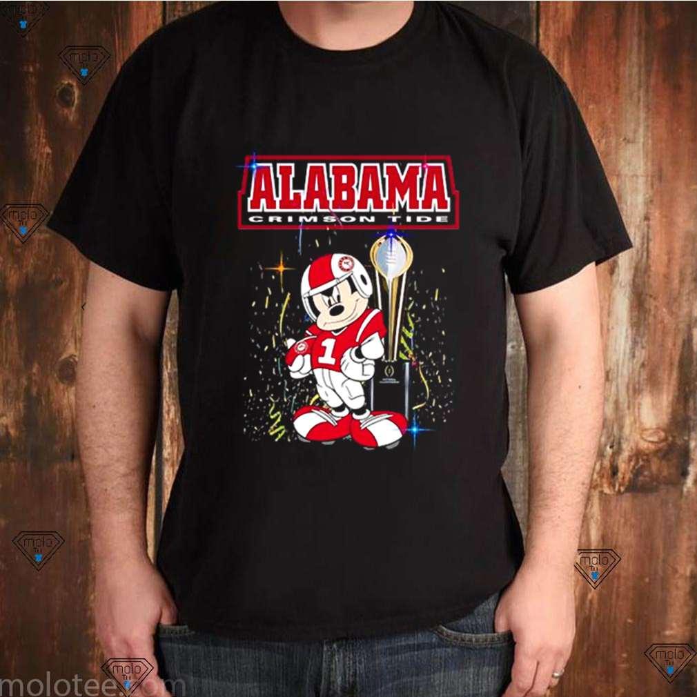 Alabama CFP national champions Mickey shirt