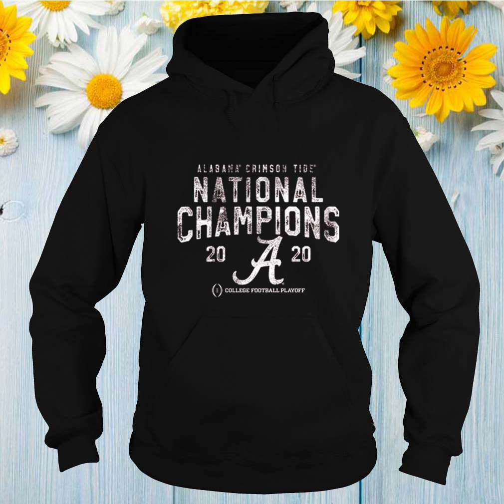 Alabama Crimson Tide National Champions 2020 College football playoff shirt