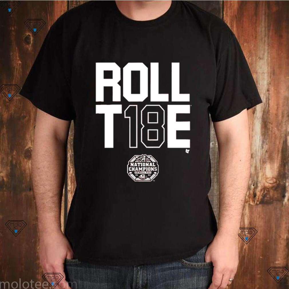 Alabama Crimson Tide Roll T18e shirt