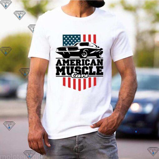 American Muscle Cars Flag shirt