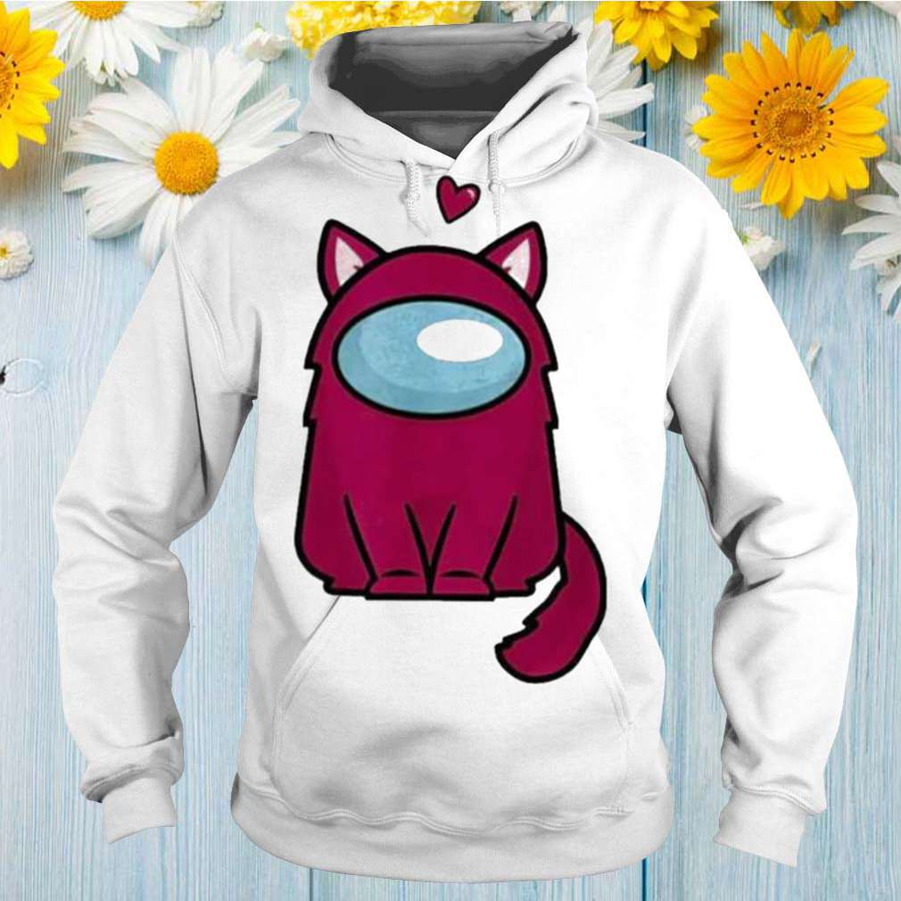 Among us cat is sus shirt
