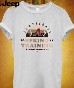 Arizona Diamondbacks scottsdale 2021 spring training spring training shirt 3