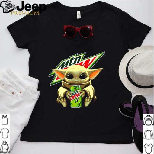 Baby Yoda Hug Mtn Dew 2021 shirt