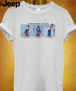 Basketball Signature Shots shirt 3