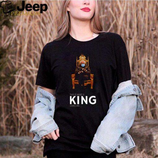 Bernie Sanders this is what a king looks like shirt 3