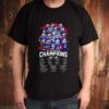 Buffalo Bills AFC East division champions 2020 team players signatures shirt