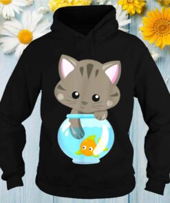 Cat Fish Mom Ladies Feline Kittens Lover shirt