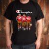 Champion Lott Rice Montana San Francisco 49ers signatures shirt