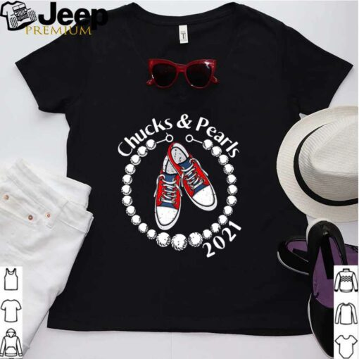Chucks And Pearls 2021 VP Kamala Harris Inauguration Day For shirt