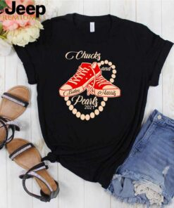 Chucks and Pearls Joe Biden and Kamala Harris 2021 shirt 2