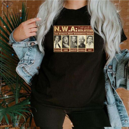 Civil Right african American leader the world most powerful group shirt