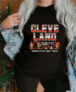 Cleveland Browns America's new team shirt