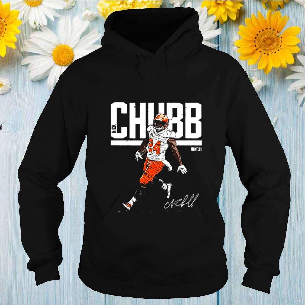 Cleveland Browns Nick Chubb signature shirt