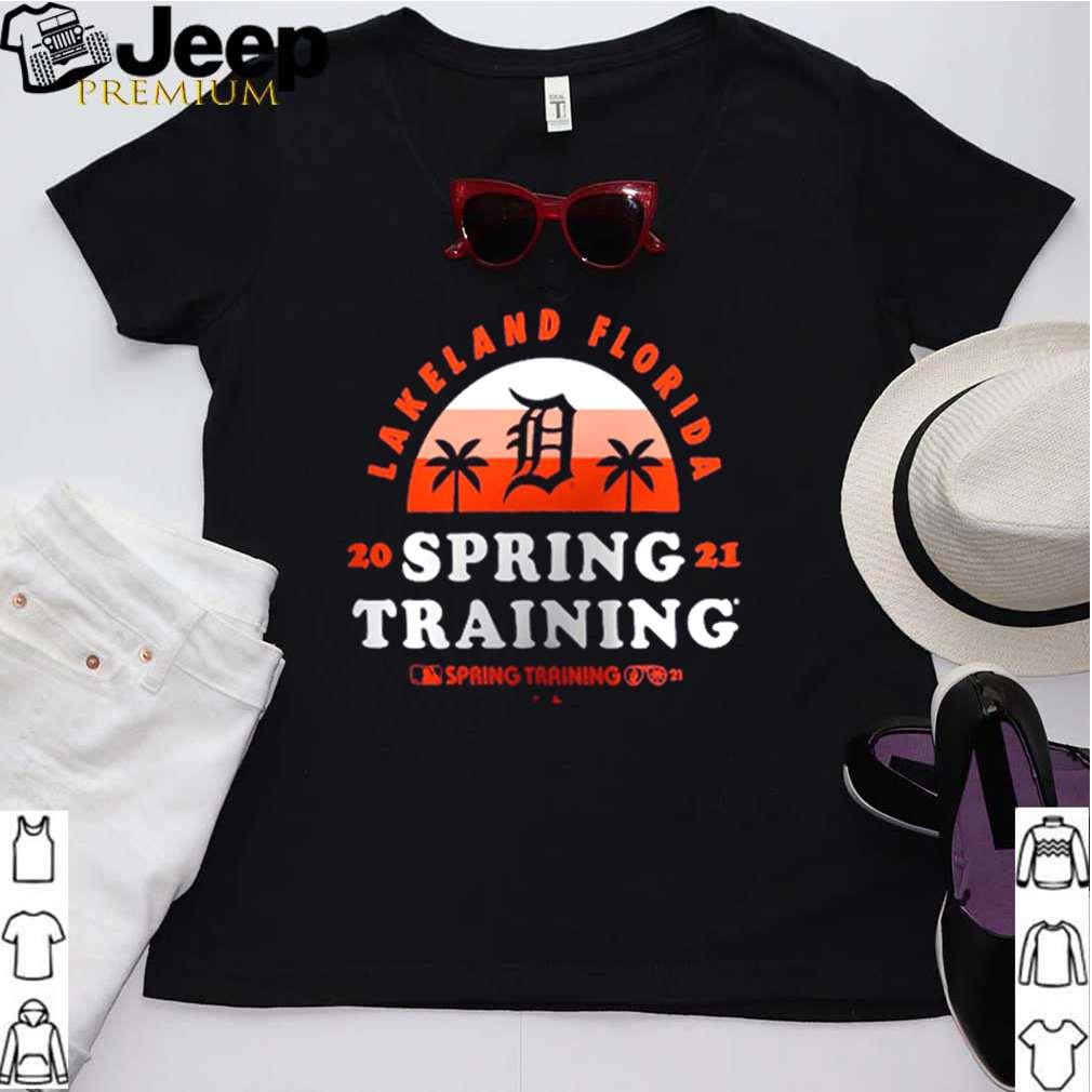 Detroit Tigers lakeland florida spring training 2021 vintage shirt 2