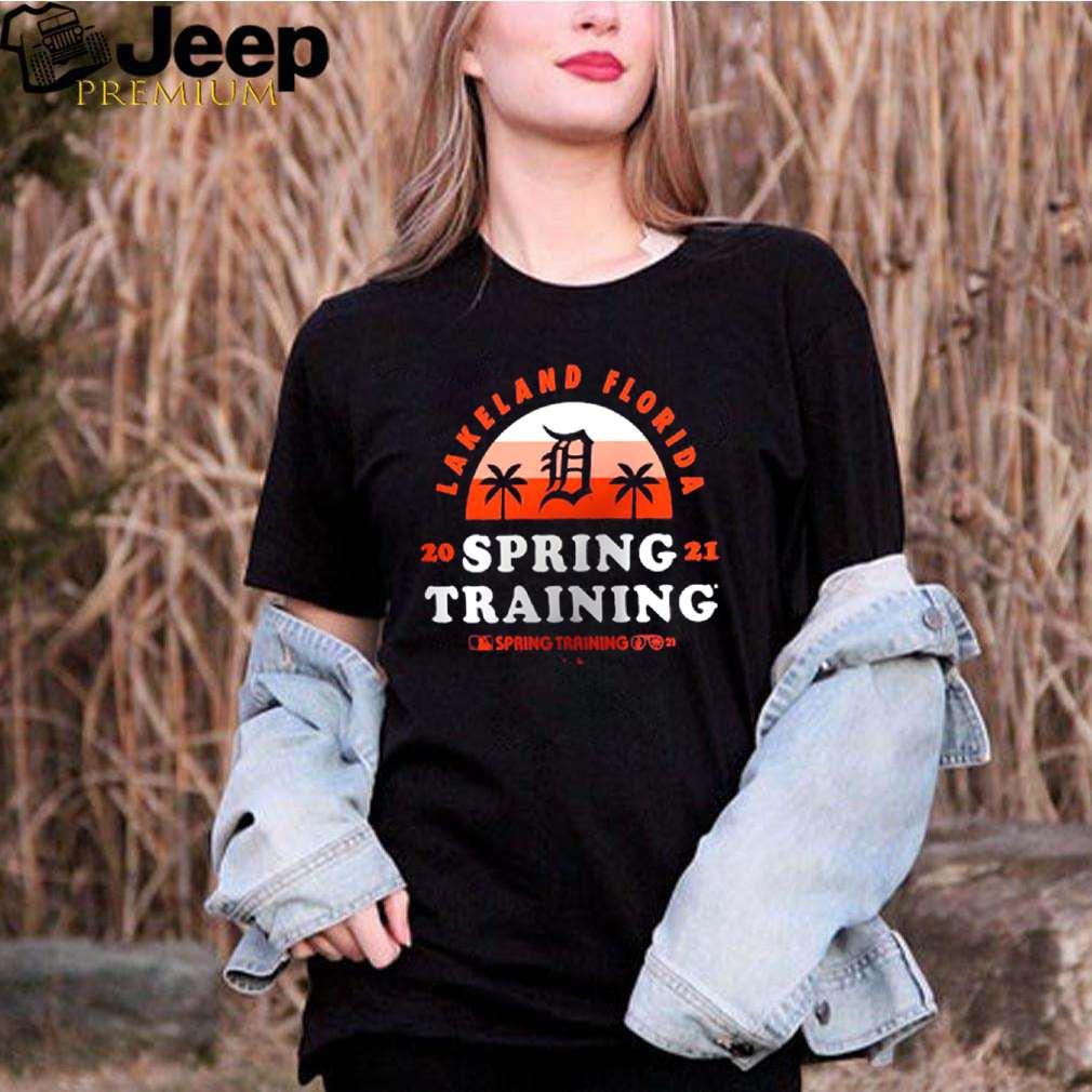 Detroit Tigers lakeland florida spring training 2021 vintage shirt 3