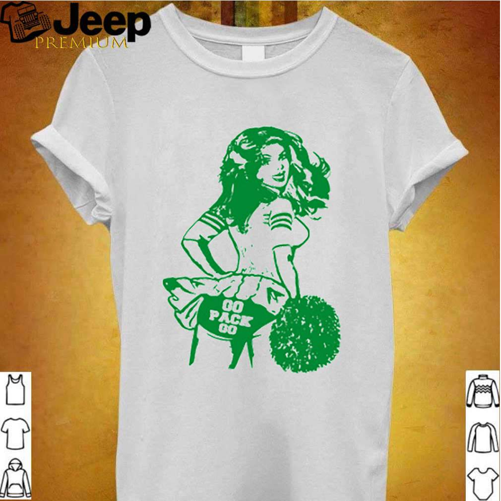 Go pack go cheerleader vintage fan shirt 3