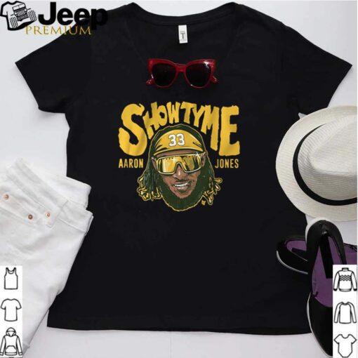 Green Bay Packers Aaron Jones Showtyme shirt 3
