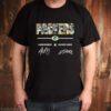 Green Bay Packers Aaron Rodgers Davante Adams signatures shirt