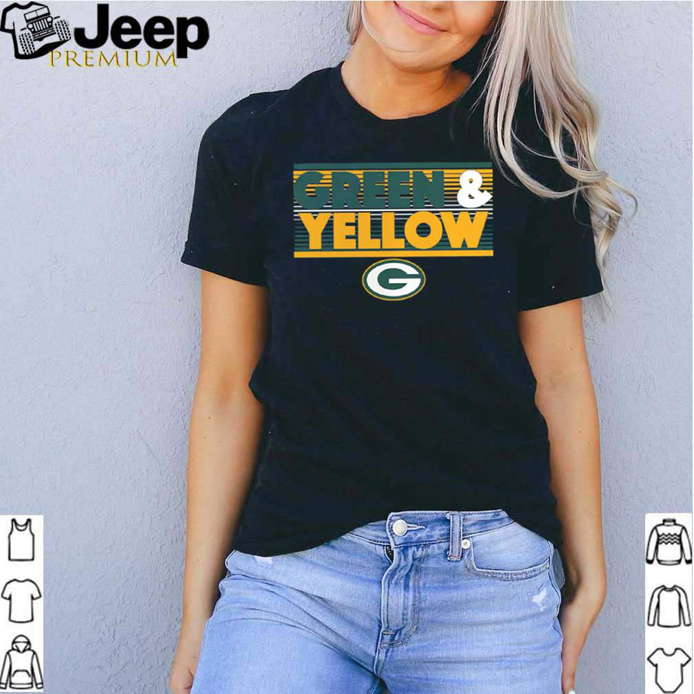 Green Bay Packers Green and Yellow shirt 2
