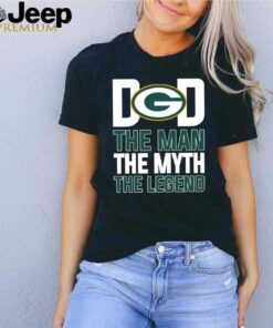Green Bay Packers dad the man the myth the legend shirt 10