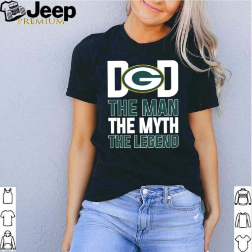 Green Bay Packers dad the man the myth the legend shirt 7