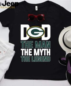 Green Bay Packers dad the man the myth the legend shirt 8