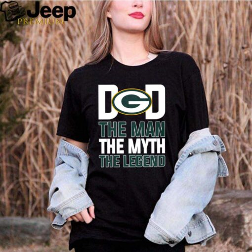 Green Bay Packers dad the man the myth the legend shirt 5