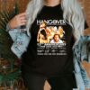 Hangover 12th anniversary 2009 2021 thank you for the memories shirt