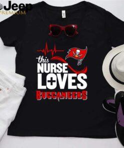 Heartbeat this nurse loves Buccaneers shirt 3 Copy