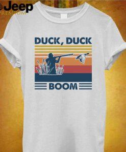 Hunting duck duck boom vintage shirt 10