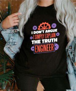 I don't argue mechanical engineer math expert shirt