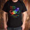 Im a proud Granddaughter of a wonderful Grandpa in heaven shirt