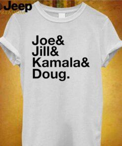Joe Jill Kamala Doug shirt 2