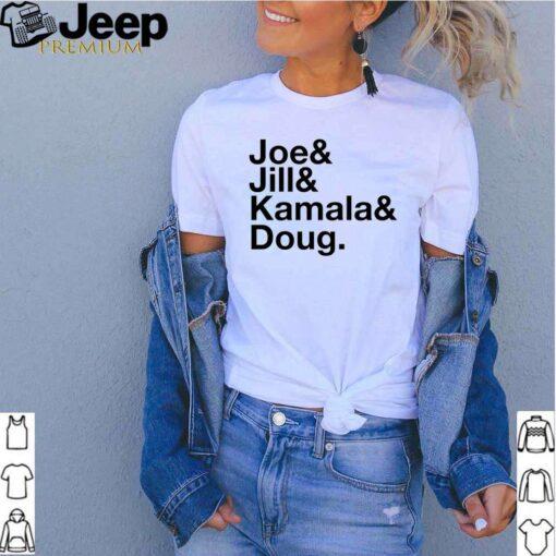 Joe Jill Kamala Doug shirt 3