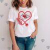 Kansas City Chiefs heart nurse shirt