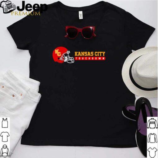 Kansas City touchdown football shirt 6