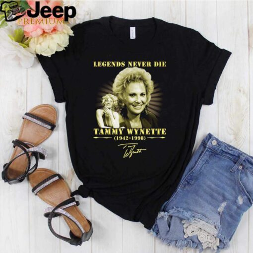 Legends never die Tammy Wynette 1942 1998 signature shirt 3 Copy