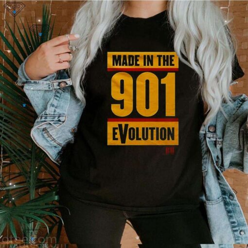 Made in the 901 evolution shirt