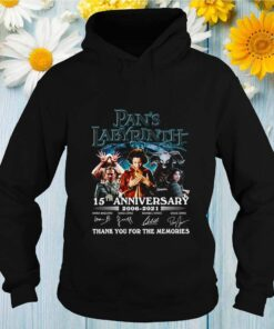 Pans Labyrinth 15th anniversary 2006 2021 thank you for the memories shirt