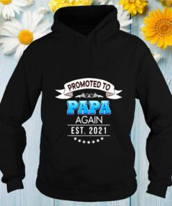Promoted to papa again est 2021 shirt