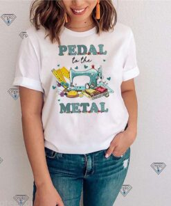 Quilting pedal to the metal shirt