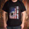 Reel Cool Gammy Vintage American Flag Fishing shirt
