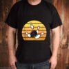 Retro Bowling Sunset shirt
