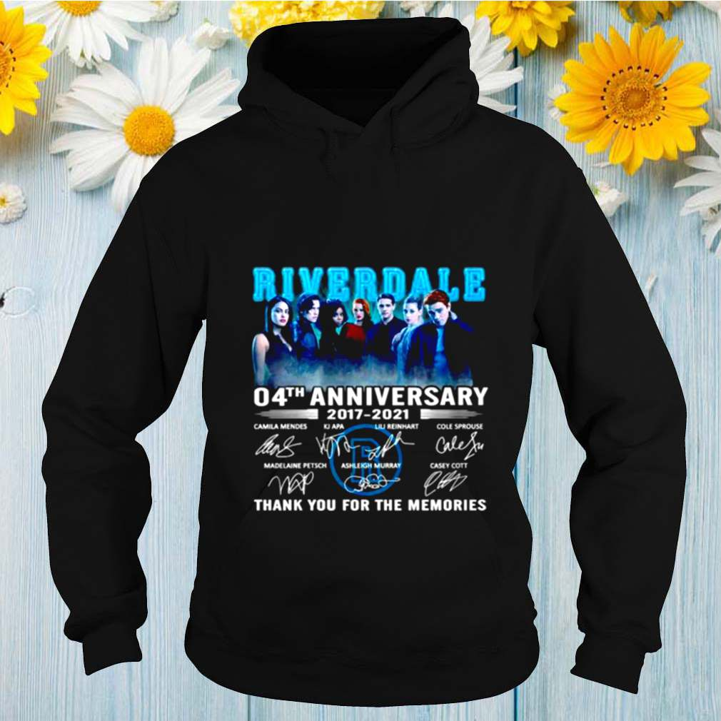 Riverdale 04th anniversary 2017 2021 thank you for the memories shirt