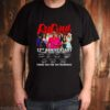 RuPauls Drag Race 12th anniversary 2009 2021 thank you for the memories shirt