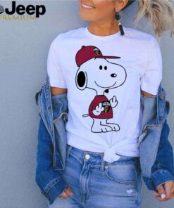 Snoopy Cleveland Cavaliers NBA Double Middle Fingers Fuck You shirt